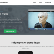 Graph Paper Press: Full Frame WordPress Theme