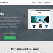 Graph Paper Press: Seneca WordPress Theme