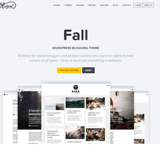 OboxThemes: Fall WordPress Theme
