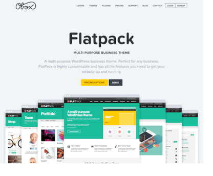OboxThemes: Flatpack WordPress Theme