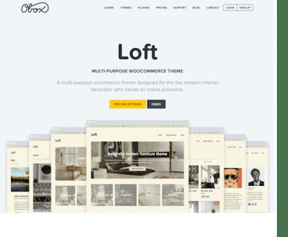 OboxThemes: Loft WordPress Theme