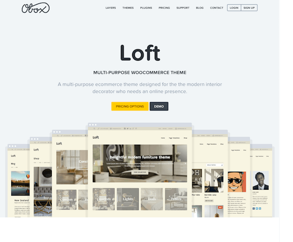 OboxThemes: Loft WordPress Theme