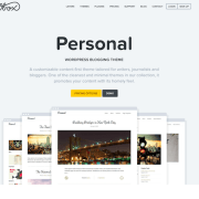 OboxThemes: Personal WordPress Theme