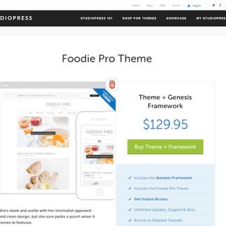 StudioPress: Foodie Pro Theme