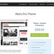 StudioPress: Metro Pro Theme