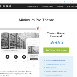 StudioPress: Minimum Pro Theme