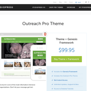 StudioPress: Outreach Pro Theme
