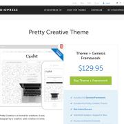 StudioPress: Pretty Creative Theme