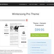 StudioPress: Wintersong Pro Theme
