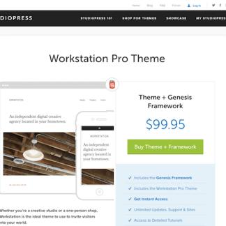 StudioPress: Workstation Pro Theme