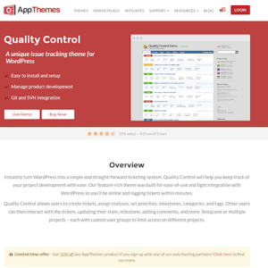 AppThemes: Quality Control WordPress Theme