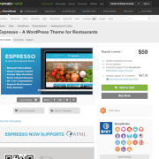 Themeforest: Espresso