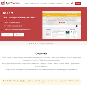 AppThemes: Taskerr WordPress Theme
