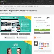 Themeforest: NewsStand