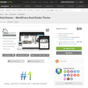 Themeforest: Real Homes