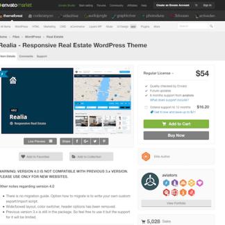 Themeforest: Realia
