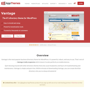 AppThemes: Vantage WordPress Theme