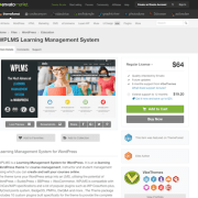 Themeforest: WPLMS Learning Management System