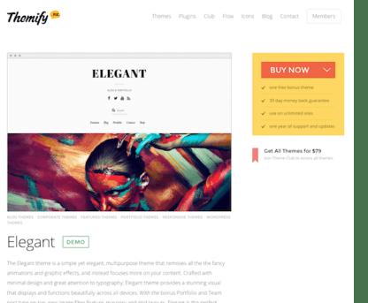 Themify: Elegant WordPress Theme