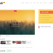 Themify: Fullpane WordPress Theme