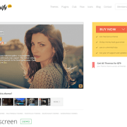 Themify: Fullscreen WordPress Theme