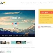 Themify: Parallax WordPress Theme