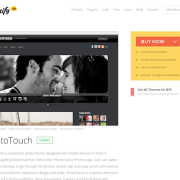 Themify: Phototouch WordPress Theme