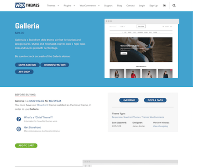 WooThemes: Galleria