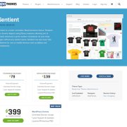 WooThemes: Sentient
