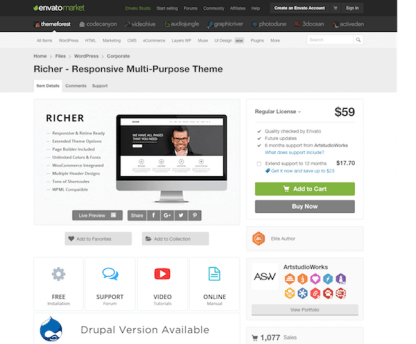 Themeforest: Richer