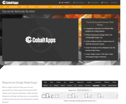 CobaltApps: Dynamik Website Builder