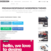 Dessign: Agency Responsive