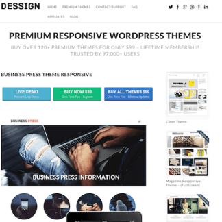 Dessign: Business Press Responsive