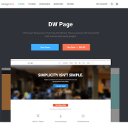 Dessign: Design Wall DW One Page Modern