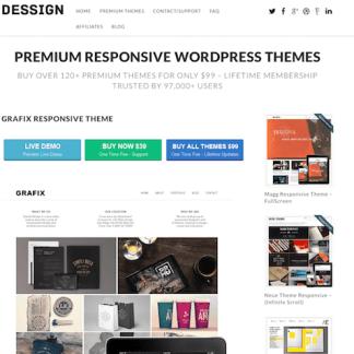 Dessign: Grafix Responsive