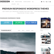 Dessign: Panoramic Responsive