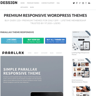 Dessign: Parallax Responsive