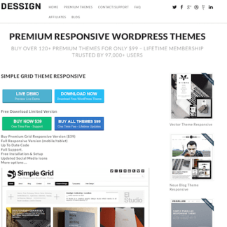 Dessign: Simple Grid Responsive