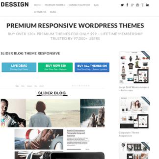 Dessign: Slider Blog Responsive