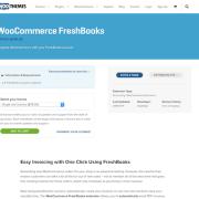 Extensión para WooCommerce: Freshbooks