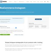 Extensión para WooCommerce: Instagram