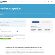 Extensión para WooCommerce: InterFax Integration