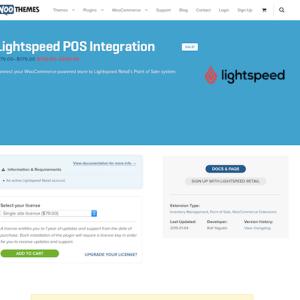 Extensión para WooCommerce: Lightspeed POS Integration