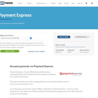 Extensión para WooCommerce: Payment Express