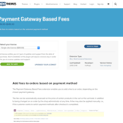 Extensión para WooCommerce: Payment Gateway based Fees