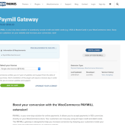 Extensión para WooCommerce: Paymill Gateway