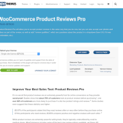 Extensión para WooCommerce: Product Reviews Pro