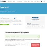 Extensión para WooCommerce: Royal Mail Shipping