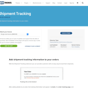 Extensión para WooCommerce: Shipment Tracking