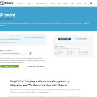 Extensión para WooCommerce: Shipwire